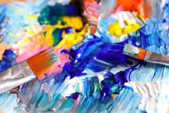 Abstract Painting with Joe Ferlazzo