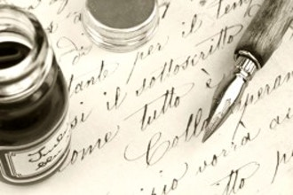Uncial Script Calligraphy