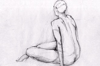 Drawing III, Figure