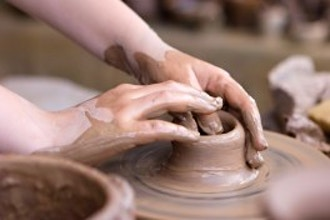 Making Pottery with Press Molds
