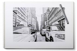 City Sketchbooks for Teens