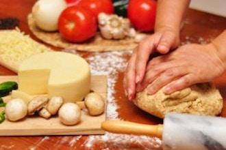 Homemade Pizza: Create Dough, Sauce & Cheese