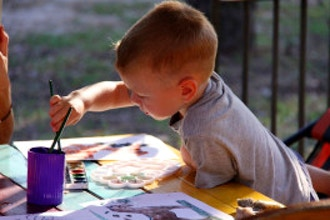 Toddler Time: Process Art for Mommy/Caregivers and Kids