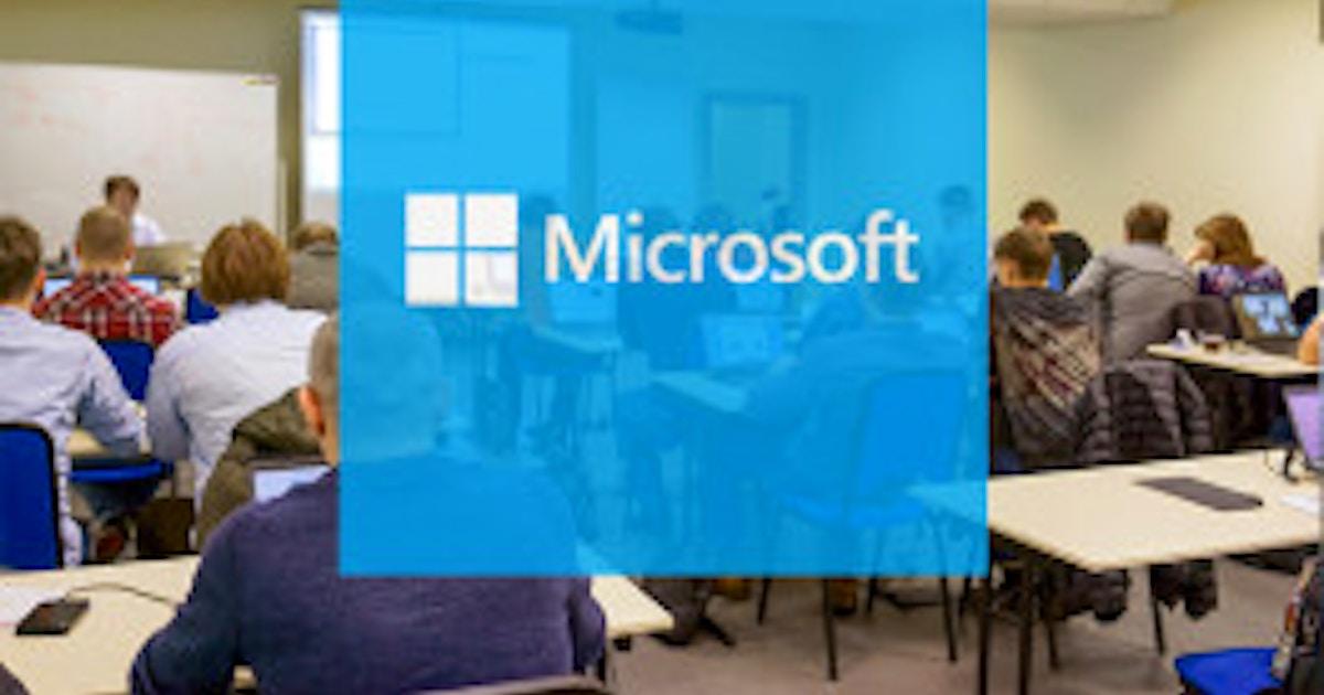 Mcsa Machine Learning Boot Camp Microsoft Training Online