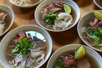 Pho, Soup Dumplings, Bibimbap
