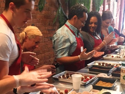 Make & Take Chocolate Truffle Class & Guided Tasting