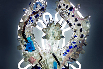 Experimental Hot Casting and Neon Assemblage