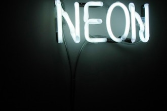 Introduction to Neon Script Lettering
