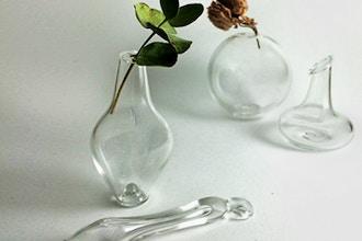 Blowing Borosilicate Bubbles