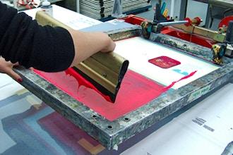 Scandinavian Screen-Printing on Glass - Screen Printing Classes New