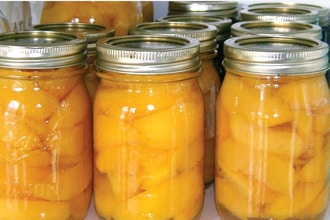 Canning Peaches - Online