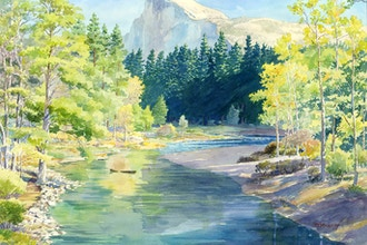 Landscape Painting (from Photo Reference)