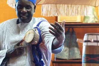 Senegal Style Drumming with Pape Diouf