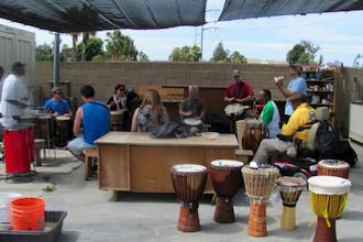 Drum with Malik