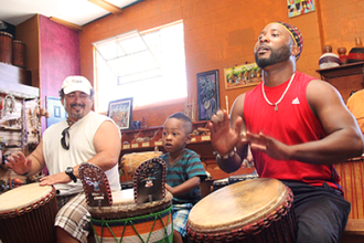 Ivorian Djembe and Djun-Djun Drumming