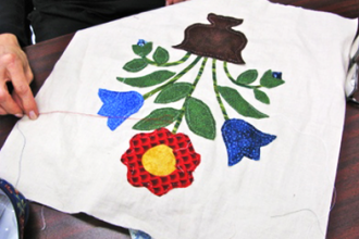Intro to hand appliqué quilting classes new york coursehorse