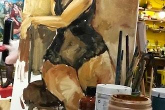Rebecca Molayem's Paint Night