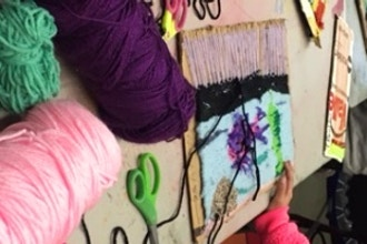 Mixed Media Weaving (Ages 11 -13)
