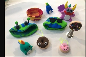 Miniature Clay Creations (Ages 6-12)