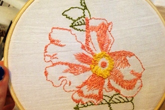 Intergenerational Embroidery