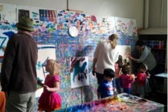 Making Art Together: Parents & Preschoolers (3-5yrs)
