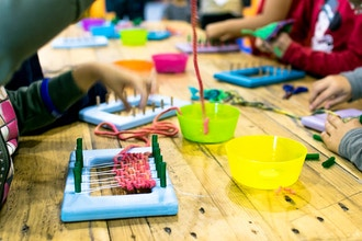 Weaving Without a Loom  (Ages 8 - 10)