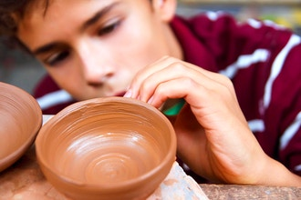 Teen Ceramics (Ages 14 - 17)