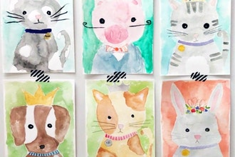 Watercolor Painting (Ages 5-11)