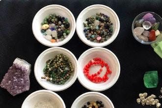 Energy Rocks: Crystal Bracelet Making for Kids