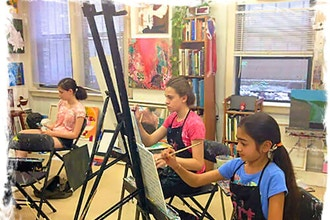 Art Camp (Ages 8-11)