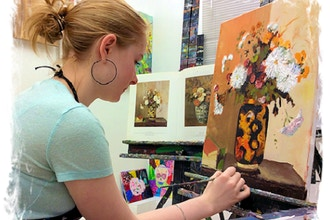 Drawing, Painting and Portfolio Prep (Ages 11-14)