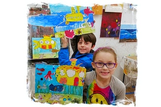 Creative Drawing & Painting (Ages 4-7)