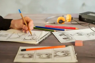 Comics, Cartoons and Manga Drawing (Ages 8-10)