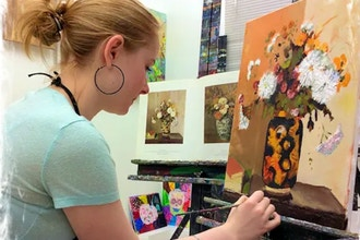 Kids/Teens Painting and Portfolio Prep (Ages 11-14)