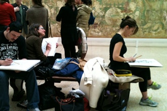Beginner's Drawing at the MET (Single Session)
