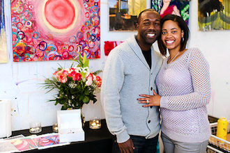 Valentine's Day Couples BYOB Painting Class Party