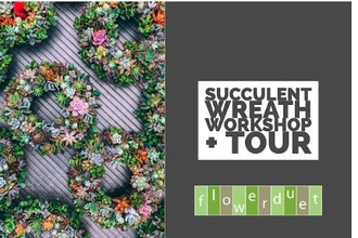 Succulent Wreath + TOUR Combo