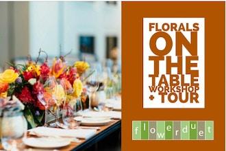 Thanksgiving Flowers & Tablescape + TOUR Combo