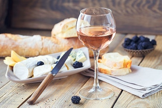 Celebrating Mothers w/ Rosé & Bubbly Wine & Cheese