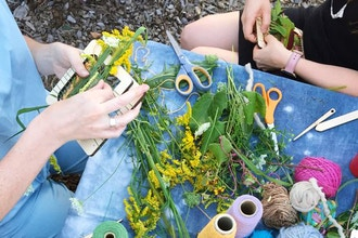 Wildflower Weaving with Local Plants
