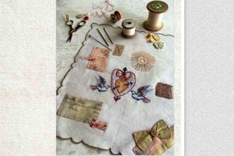 Stitched Souvenir Handkerchiefs