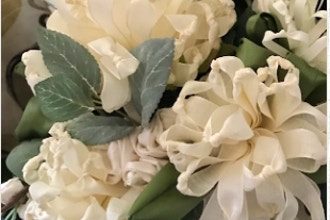 Handcrafted Silk and Ribbon Flowers