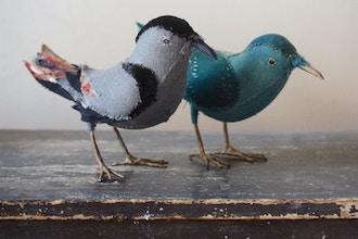Hand-Stitched Songbird