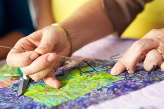 6-Week Sewing, Quilting, Knitting & Crochet for Adults