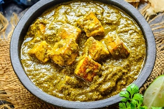 Saag Paneer + Jeera Rice (Virtual Cooking)