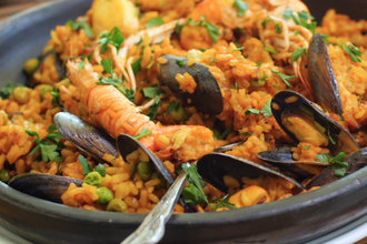 Spanish Paella and Tapas