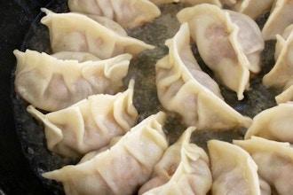 Chinese Favorite: Potsticker Dumpling & Stir-Fry