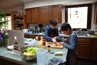 Virtual Cooking Camp for Kids, 10+ (Session D)