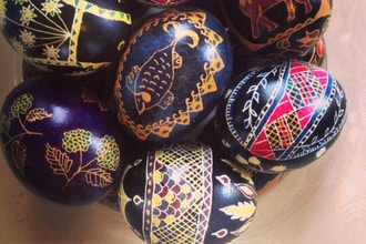 Ukrainian Egg Dyeing Workshop (Pysanky)