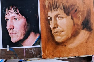 Oil Paint Portraiture from Photographs